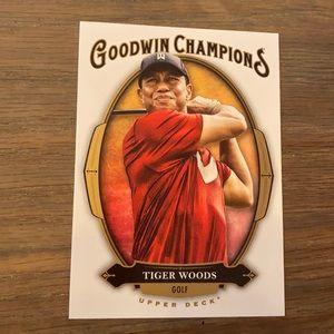 Tiger Woods Upper Deck Card